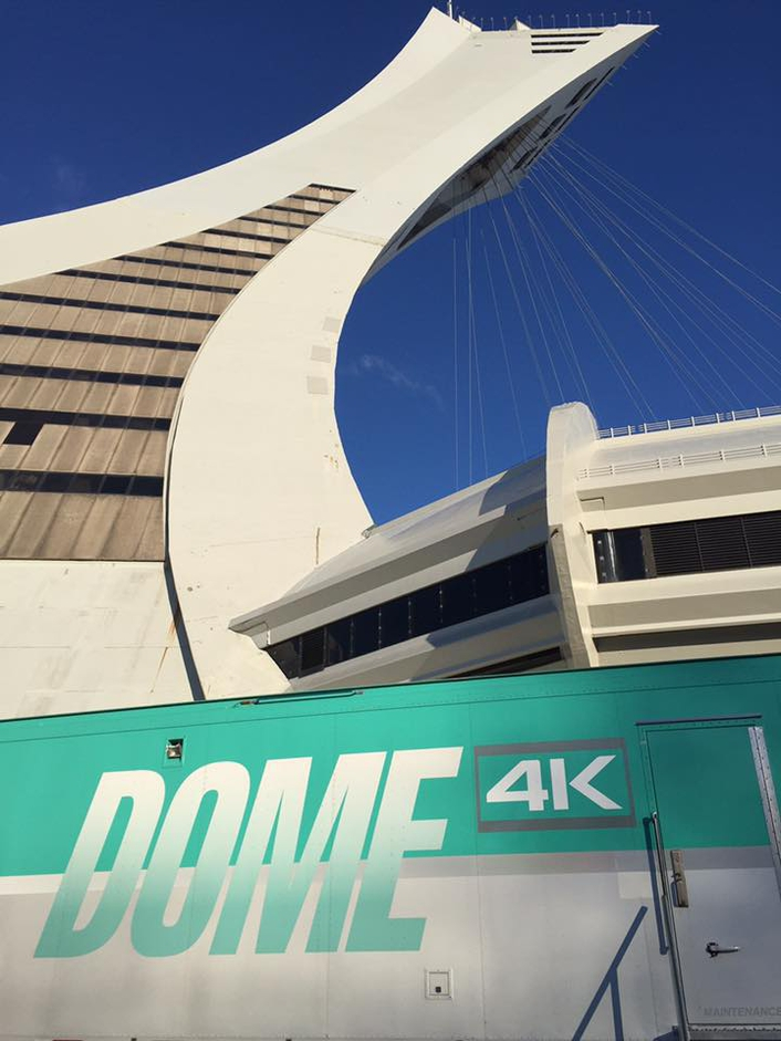 Dome Productions Launches Latest 4K/UHD Truck, Pioneer