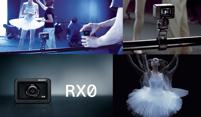 Sony launches ultra-compact, robust and waterproof RX0. Taking hallmark RX image quality into places where no other camera dares to go