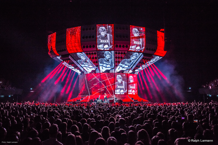 SENNHEISER DIGITAL 9000 SERIES PROVIDES ED SHEERAN WITH TRANSPARENT SOUND FOR HIS DIVIDE TOUR