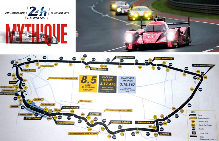 THE MILLENIUM SIGNATURE 12 MAKES ITS MAIDEN BROADCAST AT 24 HEURES DU MANS