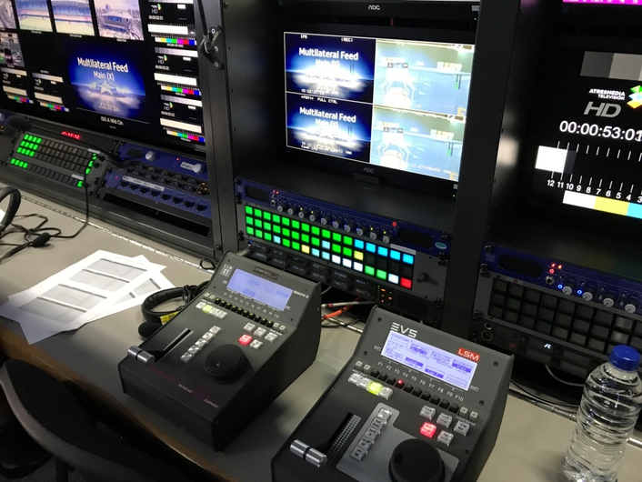 Live production servers and C-Cast multimedia delivery platform used by host broadcaster at Cardiff UEFA Champions League production showpiece
