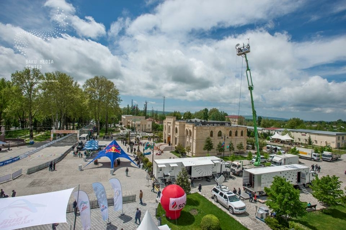 Live Production of Tour d'Azerbaijan Bicycle Race with the Support of Broadcast Solutions