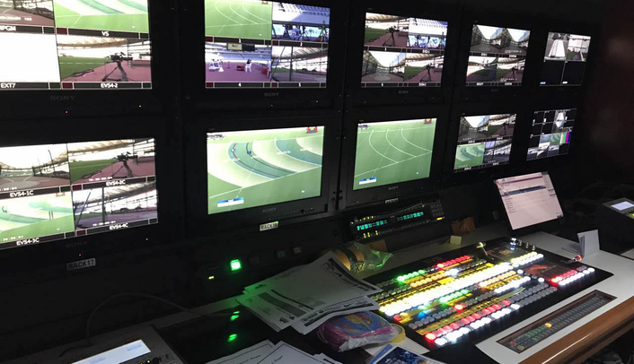 Xiamen Media Group deployed live video switcher and EVS live production servers for host broadcast duties at key athletics event
