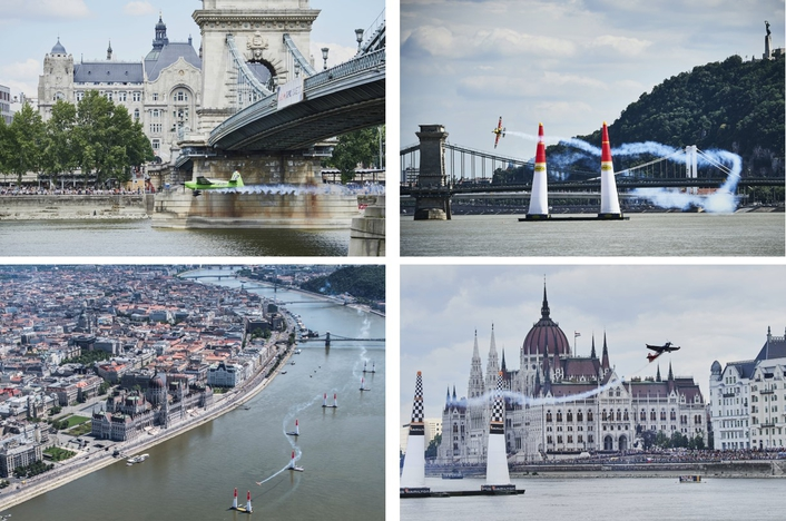 Red Bull Air Race in Budapest 2017