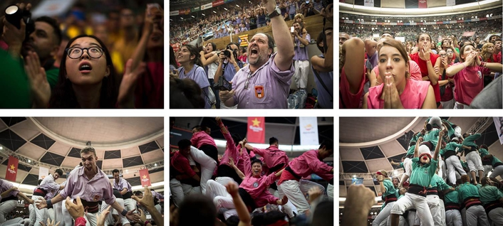 Watch talented teams rise high at the extraordinary Concurs de Castells event