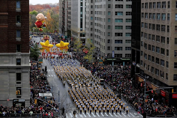 The Macy's Thanksgiving Day Parade, at the Crossroads of Tradition and Technology