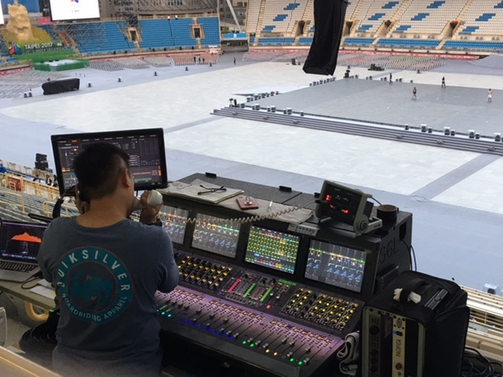 2017 Taipei Summer Universiade Games with Clear-Com