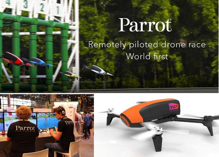 During Viva Technology 2017, PMU is offering the chance to experience something extraordinary from its stand: drone races at the ParisLongchamp racecourse, remotely piloted from the PMU Lab at Vivatech Porte de Versailles in Paris.