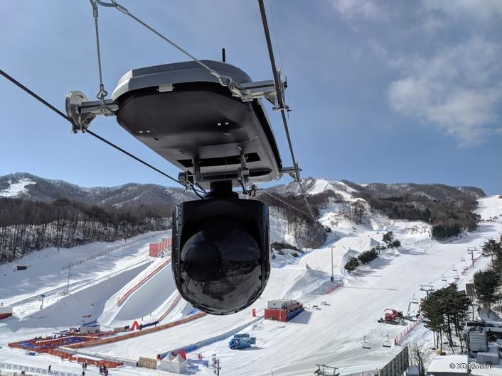 XD Motion at Phoenix Snow Park in PyeongChang