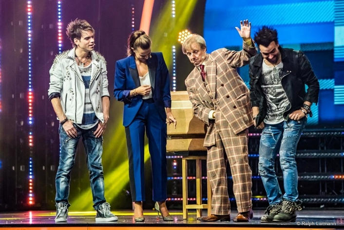Mo2 and Ehrlich Entertainment GmbH join forces in Stuttgart on a unique TV show with the Ehrlich Brothers, using over 1,100 fixtures from GLP