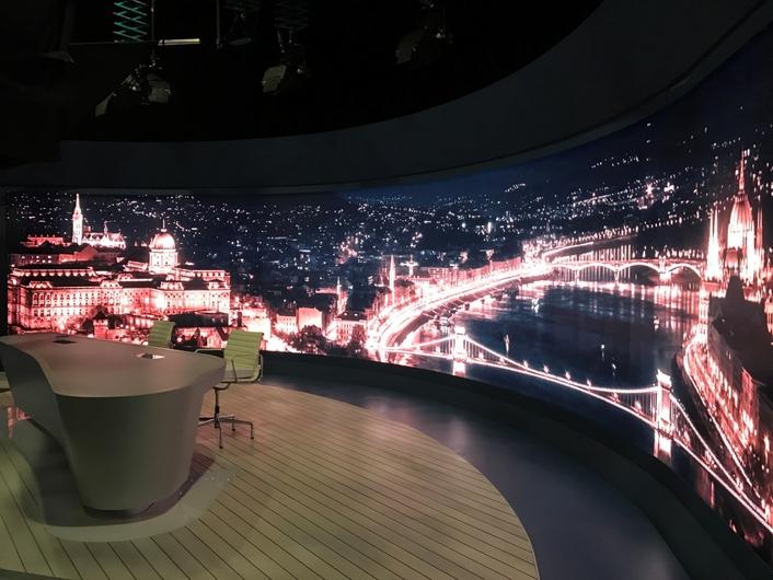 Absen LED Revamps Hungary's TV2 Studio News Programme