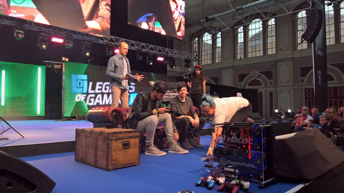 Legends of Gaming: Fonix bring online gamers to Alexandra Palace