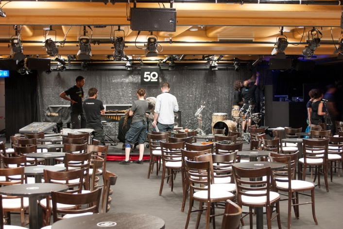 5.1 Surround Sound for the 50th Montreux Jazz Festival
