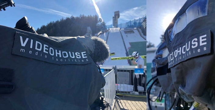Euro Media Group at Seefeld for the FIS Nordic Ski World Cup
