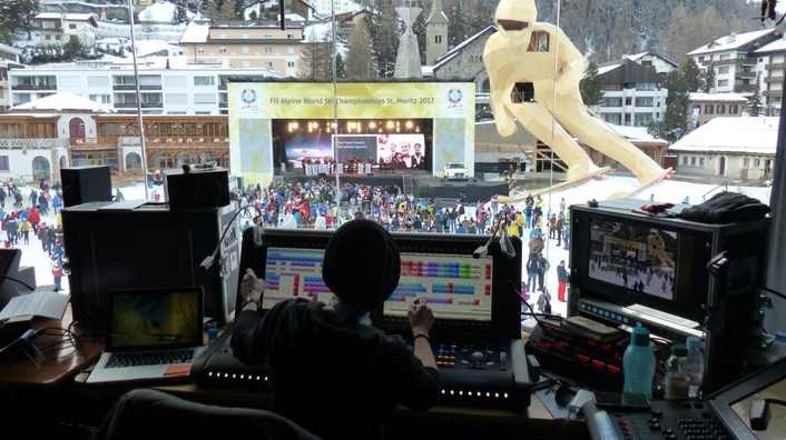St. Moritz 2017 grand opening of the FIS Alpine World Championships