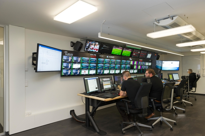 NEP Switzerland realizes Studio- / Playout-Facilities for MySports Channel in Zurich and Rossens