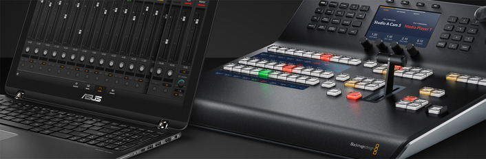 The world's most advanced HD and Ultra HD live production switcher with 4 M/E and 16 next generation ATEM Advanced Chroma Keyers for creating incredible Ultra HD programs!