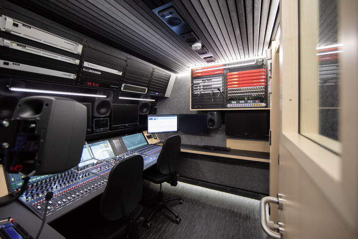 DirectOut equipment for extensive audio flexibility in RTBF/NEP Belgium´s Full-IP twin OBs