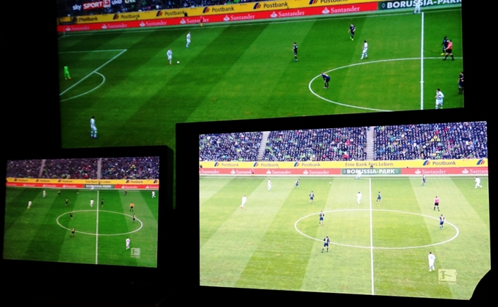 TVN produced first HDR live-test of a Bundesliga football match on behalf of Sportcast