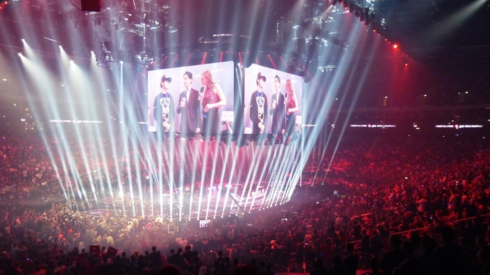 League of Legends Final 2015 - Remote Production Berlin - Los Angeles