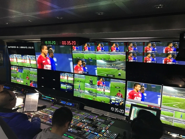 The first 5G + 4K + VR live broadcast of Chinese Football Association Super League
