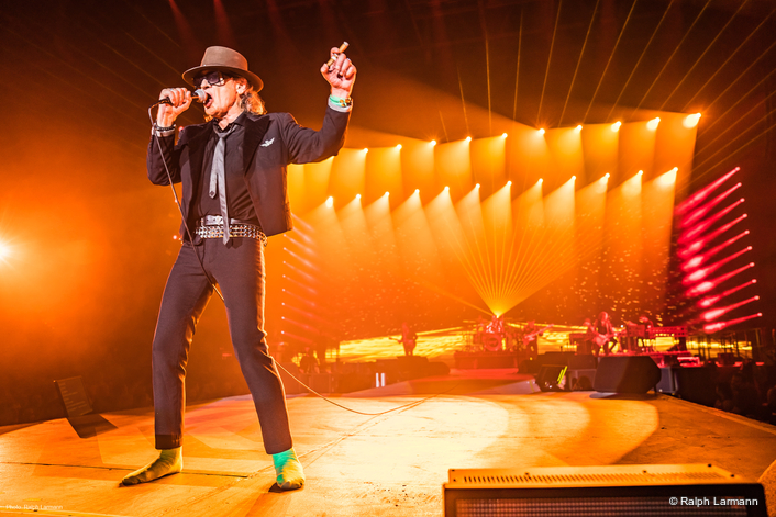 Udo Lindenberg on Arena Tour with GLP