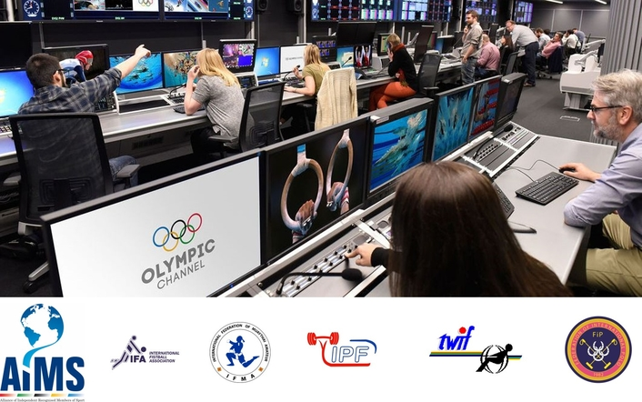 Olympic Channel Welcomes Six New Federation Partners