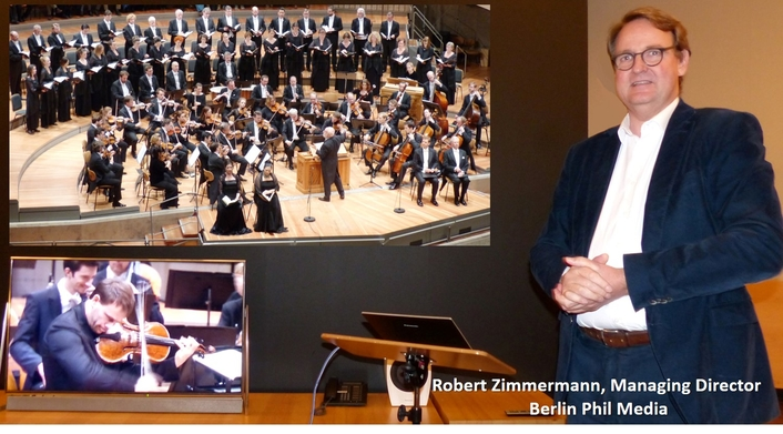 Collaboration between Berlin Phil Media and Panasonic improves the offerings of the Digital Concert Hall