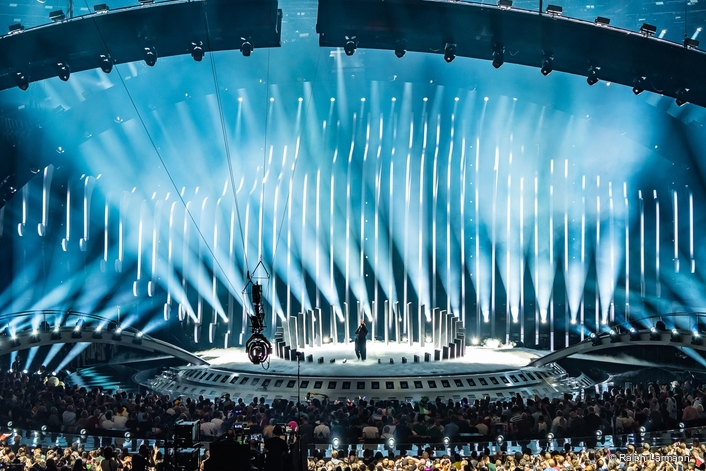Claypaky fixtures on Eurovision during the Grand Final on Saturday 12 May.