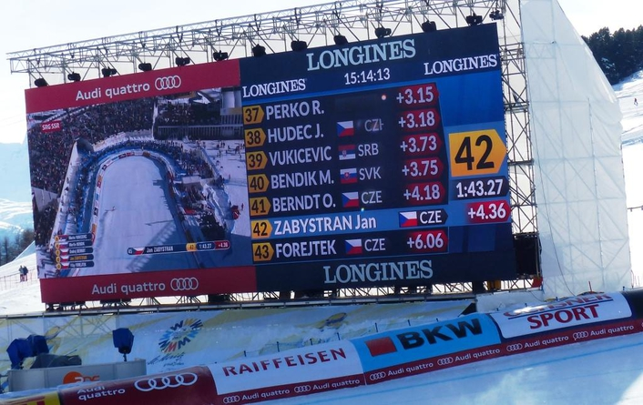 Launch of the Longines Live Alpine Data System