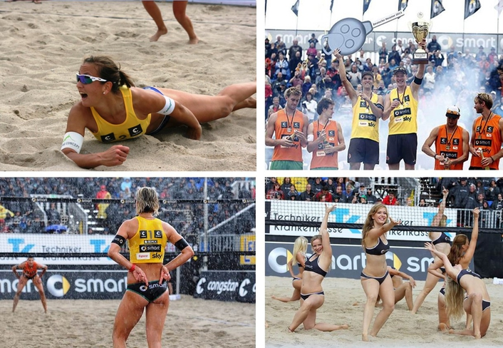 A New Highlight in the Sports Calendar: Beach Volleyball by SKY Germany