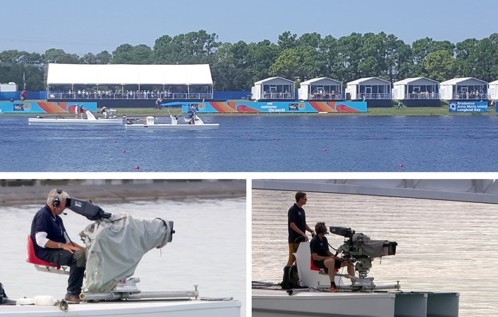 quattro media Gets Creative With Drone and Cineflex Cams at FISA World Rowing Championships