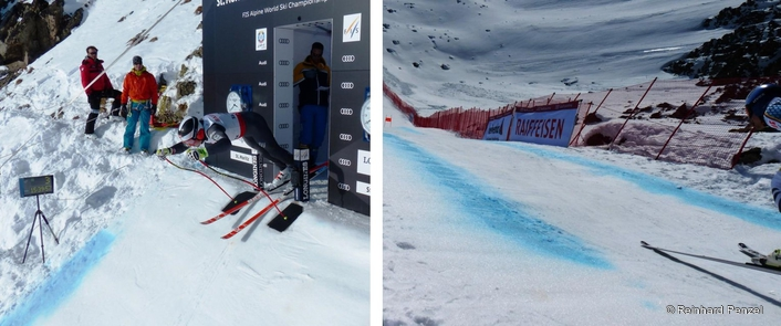 Downhill Training Runs: At the Free Fall in St.Moritz