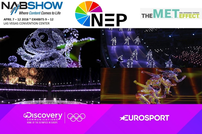 NEP Showcases Innovative Solutions Supporting Discovery's Inaugural Olympics Coverage at NAB 2018