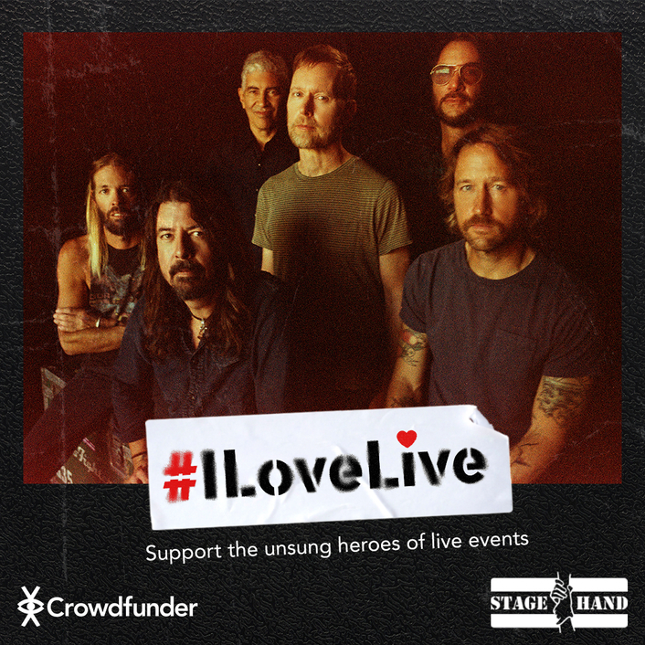 In 2020 the first #ILoveLive prize draw raised £546,000 for the charity Stagehand helping music and road crew in desperate need.