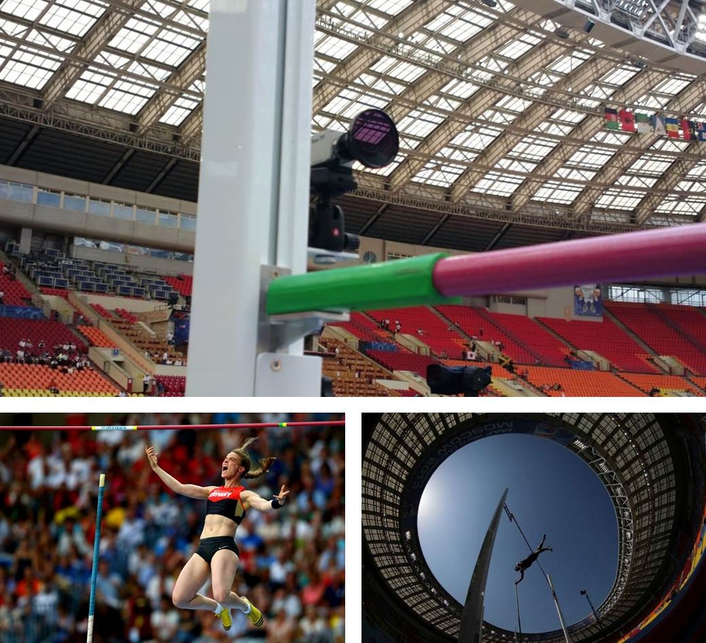 Special cameras at the iaaf world championships 2013 in for Production vault