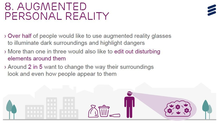 Ericsson's 10 Hot Consumer Trends for 2017: AI and Virtual Reality