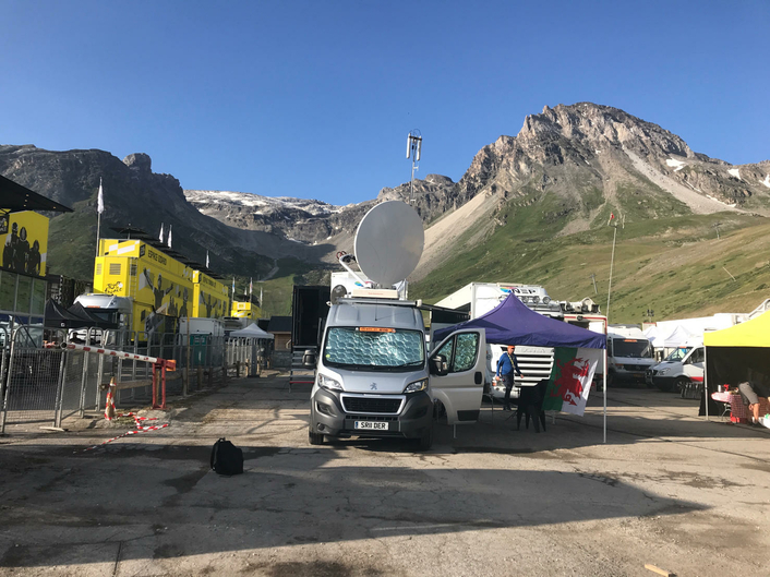 NEP Connect Celebrates 10 Years of Broadcasting the Tour De France with Vsquared TV