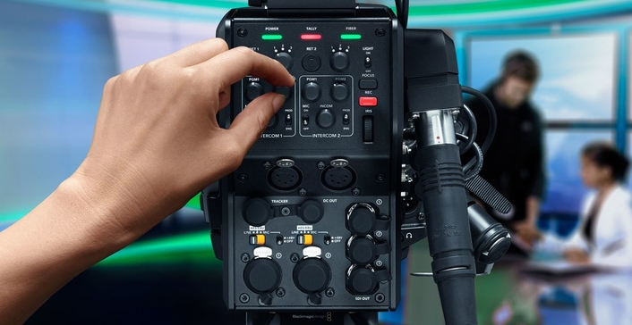 The world's most affordable and flexible professional HD and Ultra HD broadcast camera for live production and studio programs, at the same price as a DSLR camera!