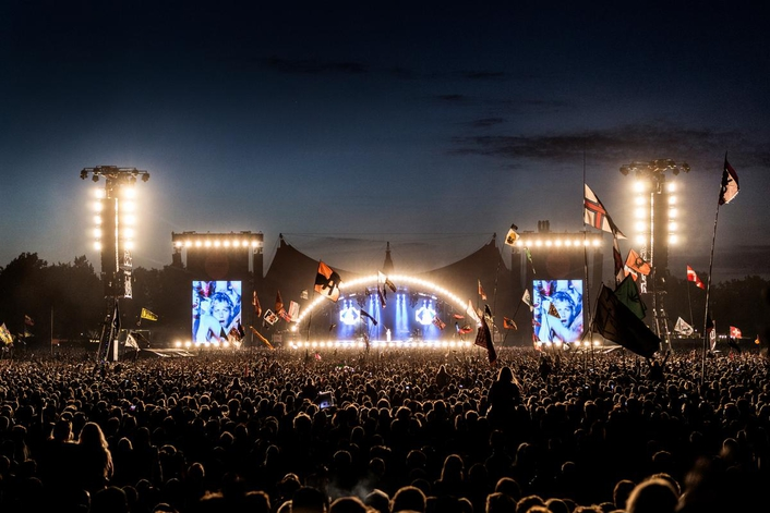Robe BMFLs Rock Roskilde Arena
