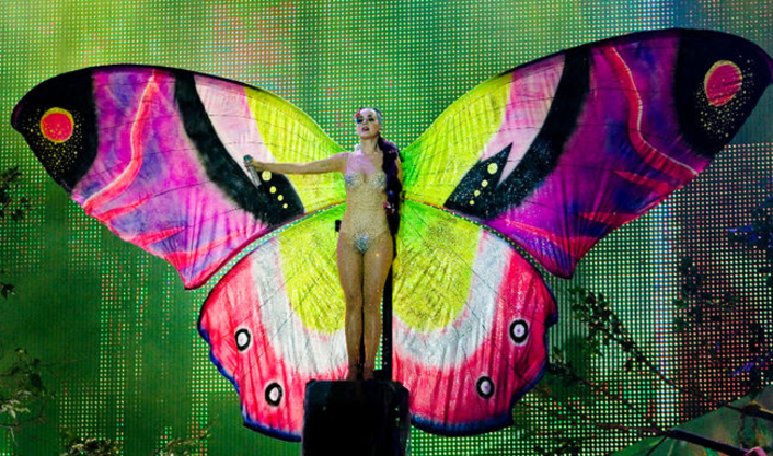 AJA Technology Powers Dynamic Video Wall Content for Katy Perry's 'Prismatic' Tour