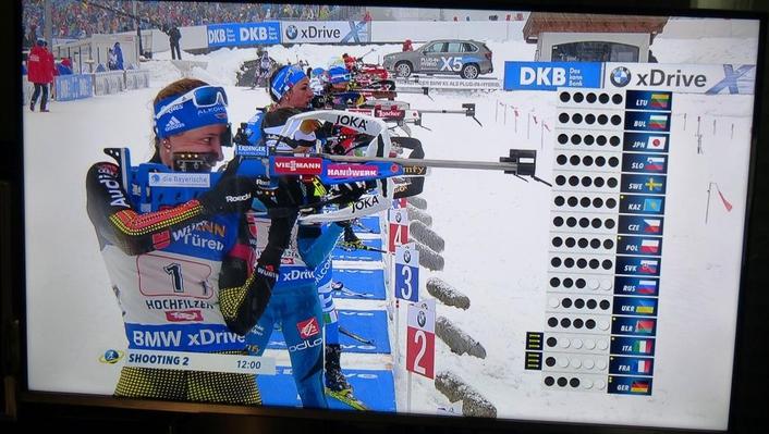 IBU World Championships Biathlon 2017 in Hochfilzen