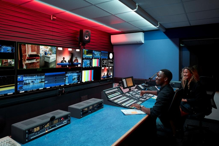 World leading film school installs the latest Sony 4K and HDR live production tools in new state-of-the-art training facility