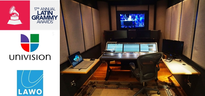 Music Mix Mobile Delivers Outstanding Audio for Latin Grammys with Lawo mc²36