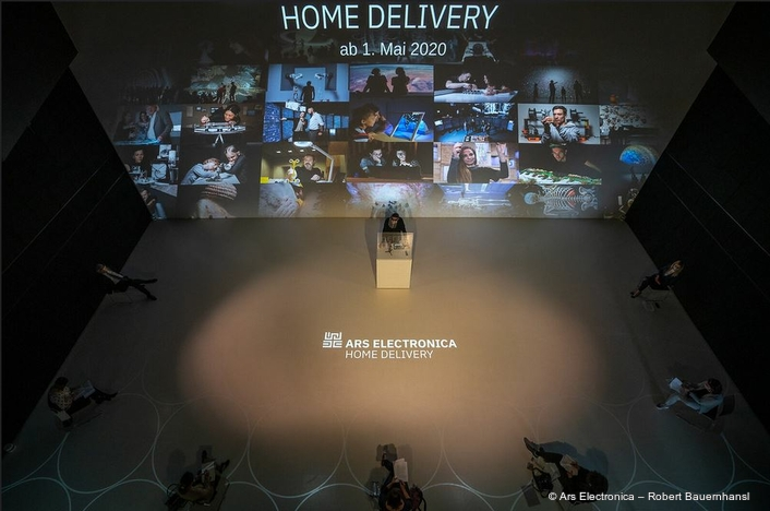 Want a taste of the future? Here comes Ars Electronica Home Delivery!