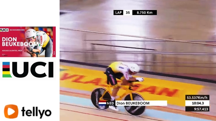 Dutchman Dion Beukeboom falls short of setting new Hour Record