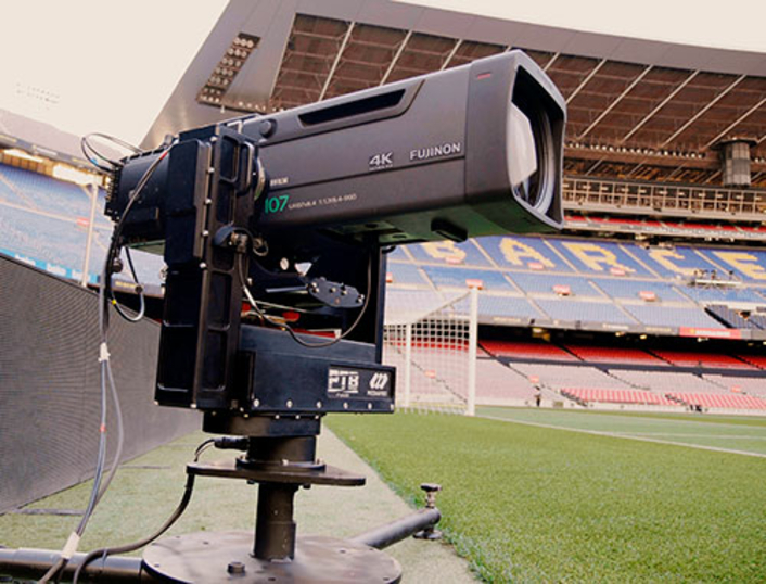 The operators can work remotely without compromising broadcast quality