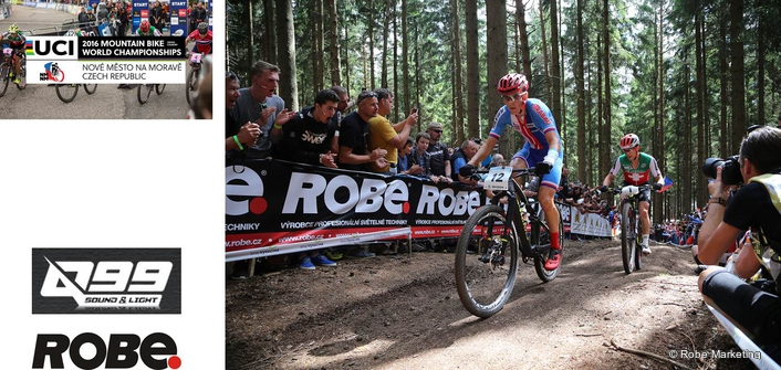 Robe Works with Winners at 2016  UCI Mountain Bike World Championships