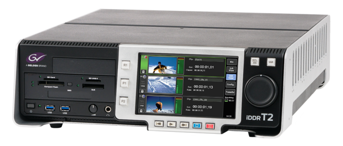 Grass Valley Introduces Latest Version of T2 Series Digital Recorder/Player, T2 Series 3