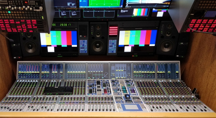 14 audio DSP boards for two HD outside broadcast trucks